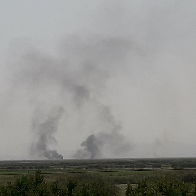 ՀՐԱՏԱՊ !!! Երասխում թշնամին 1,5 ժամ կրակել է հայկական դիրքերի ուղղությամբ